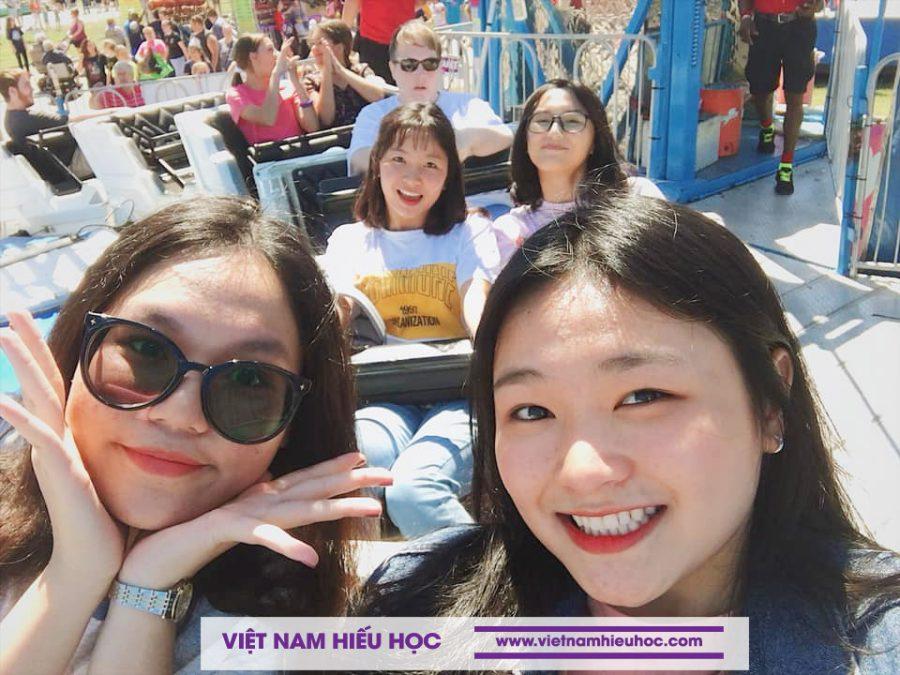 Học sinh Việt Nam Hiếu Học du học Mỹ