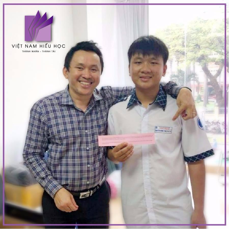 Nguyễn Minh Tâm, học sinh lớp 11 trường THPT Long Thành (Đồng Nai)