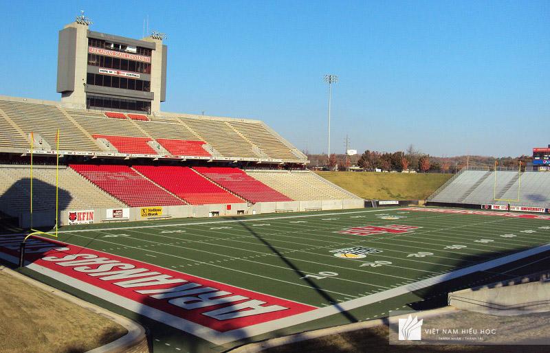 Sân vận động của trường Arkansas State University