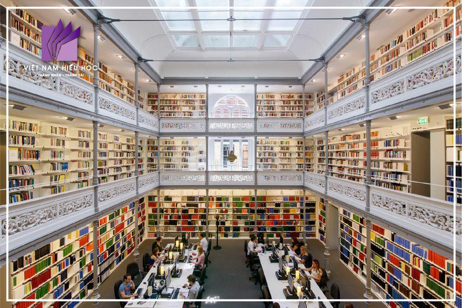 Học bổng du học Hà Lan - Thư viện Đại học Utrecht