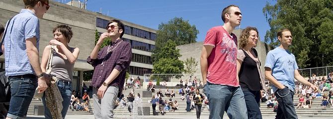 Học bổng du học Anh - Đại học East Anglia đầu tư cho cuộc sống sinh viên toàn diện