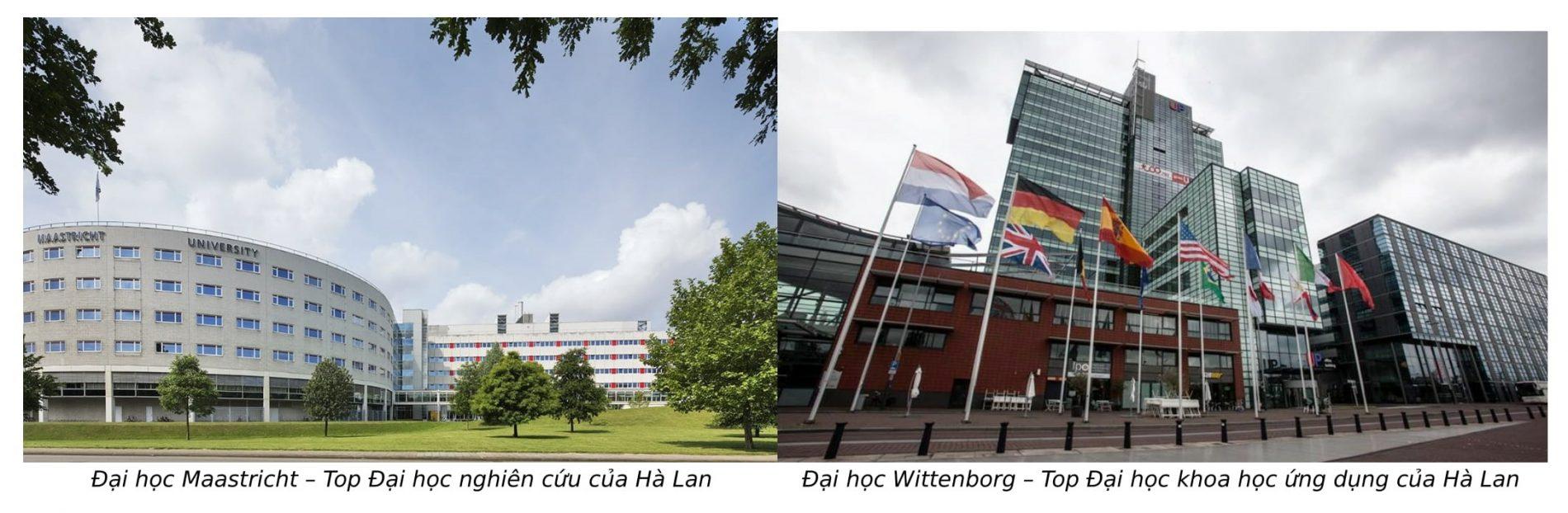 Top Đại học khoa học ứng dụng và Đại học nghiên cứu tại Hà Lan