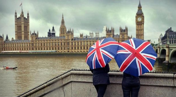 """Khí hậu nước Anh """"thiếu quyết đoán"""""""