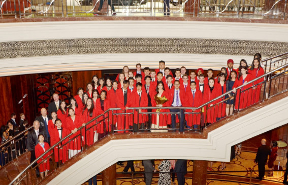 Buổi lễ tốt nghiệp của các học sinh trường Quốc tế Kilmore