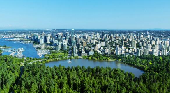 Toàn cảnh thành phố Vancouver