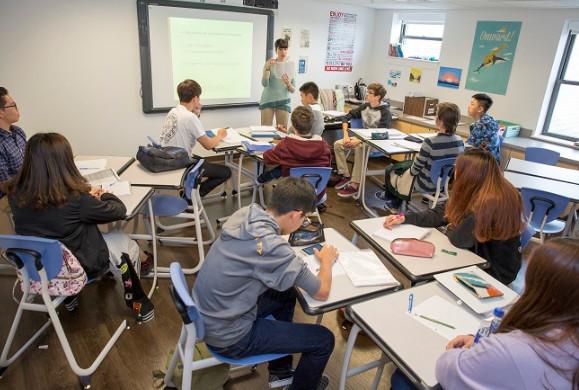 Không khí một lớp học Trung học tại Mỹ