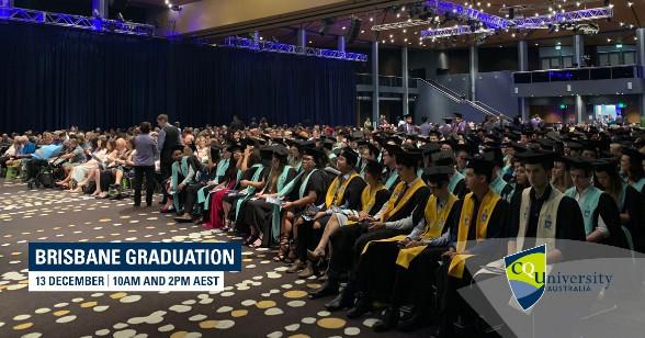 Lễ tốt nghiệp tại trường CQUniversity