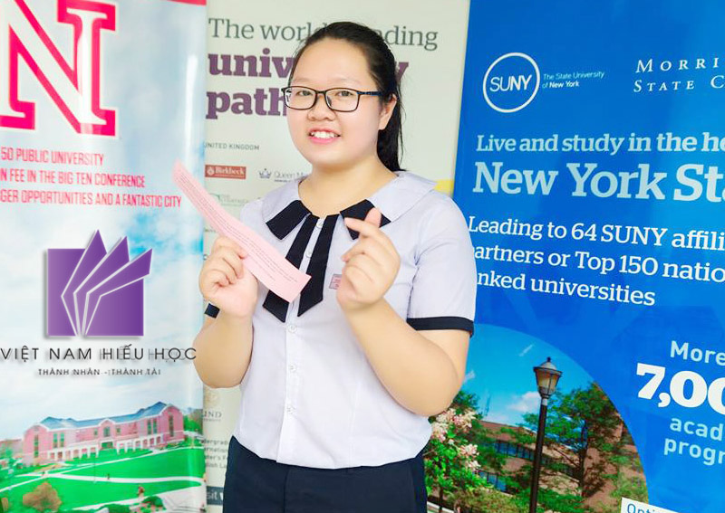 Phạm Đoàn Thảo My – cô nữ sinh tài năng nhận 3 suất học bổng 70% của các trường đại học uy tín tại Mỹ